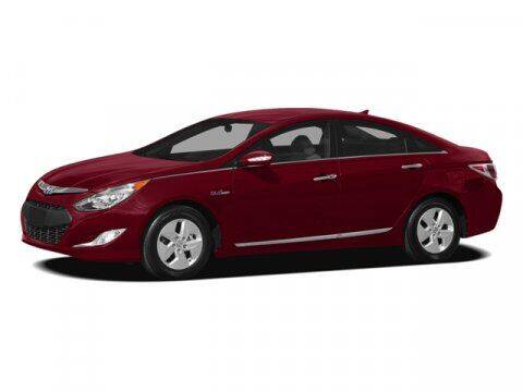 2012 Hyundai Sonata Hybrid for sale at STG Auto Group in Montclair CA