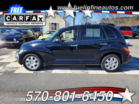 2002 Chrysler PT Cruiser for sale at FUELIN FINE AUTO SALES INC in Saylorsburg PA