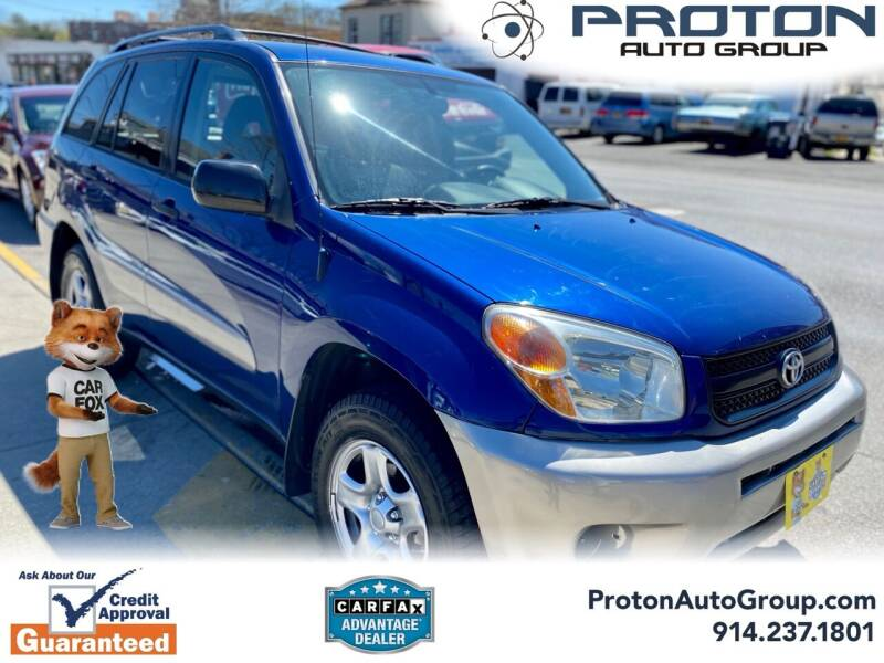 2005 Toyota RAV4 for sale at Proton Auto Group in Yonkers NY