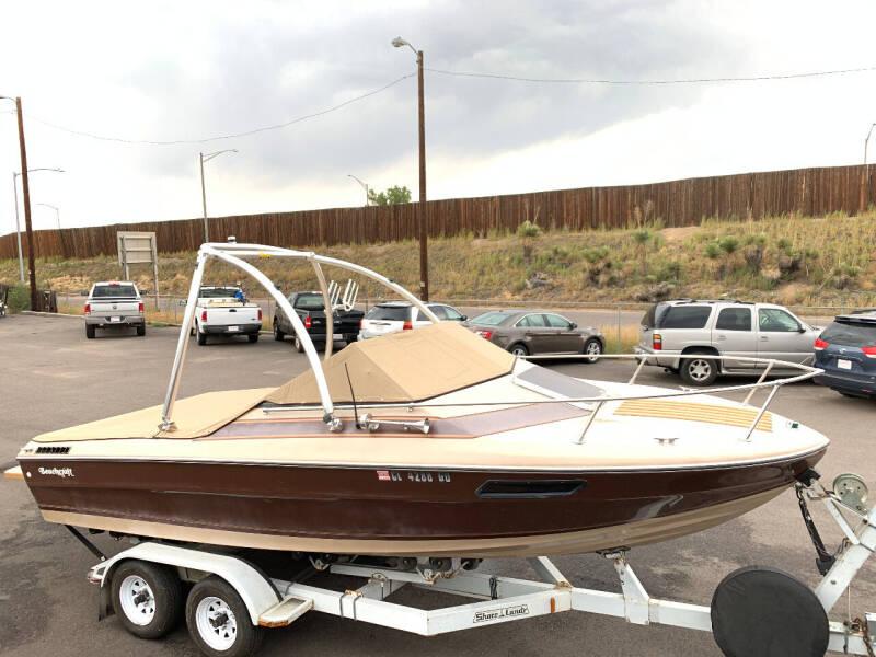 1985 Bayliner beachcraft for sale at McManus Motors in Wheat Ridge CO
