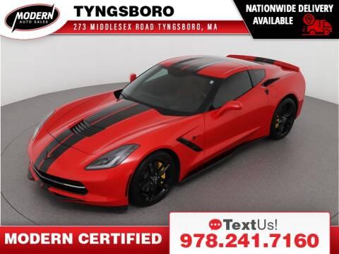 2014 Chevrolet Corvette for sale at Modern Auto Sales in Tyngsboro MA