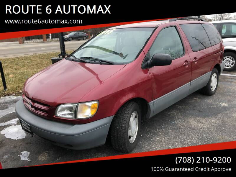 2000 Toyota Sienna for sale at ROUTE 6 AUTOMAX in Markham IL