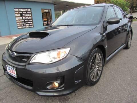 2012 Subaru Impreza for sale at Trimax Auto Group in Norfolk VA