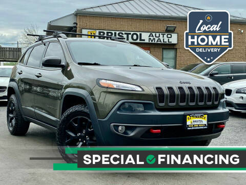 2015 Jeep Cherokee for sale at Bristol Auto Mall in Levittown PA
