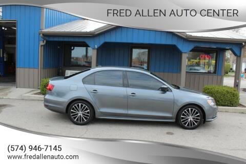 2015 Volkswagen Jetta for sale at Fred Allen Auto Center in Winamac IN