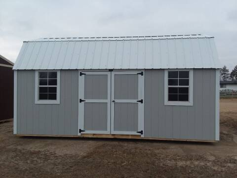 2020 PREMIER Portable Building's 10x20 Side Lofted Barn SOLD for sale at Dave's Auto Sales & Service in Weyauwega WI