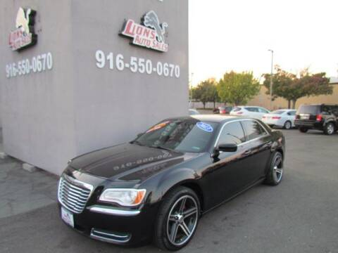2013 Chrysler 300 for sale at LIONS AUTO SALES in Sacramento CA