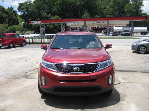 2014 Kia Sorento for sale at LAKE CITY AUTO SALES in Forest Park GA