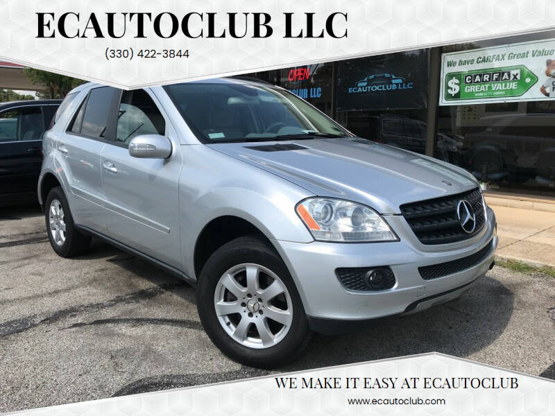 2006 Mercedes-Benz M-Class for sale at ECAUTOCLUB LLC in Kent OH