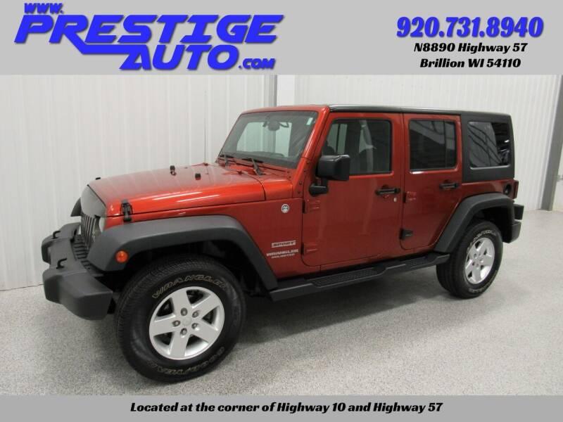 2014 Jeep Wrangler Unlimited for sale at Prestige Auto Sales in Brillion WI