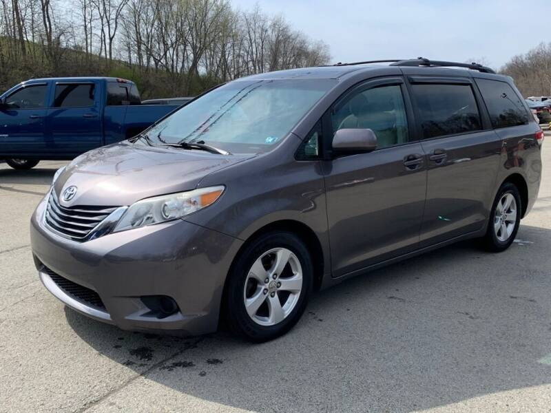 2012 Toyota Sienna for sale at Elite Motors in Uniontown PA
