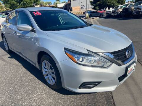 2016 Nissan Altima for sale at Boulevard Motors in St George UT