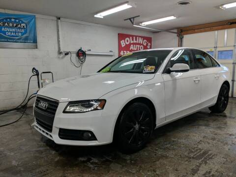 2011 Audi A4 for sale at BOLLING'S AUTO in Bristol TN