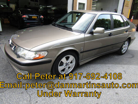 2002 Saab 9-3 for sale at Dan Martin's Auto Depot LTD in Yonkers NY