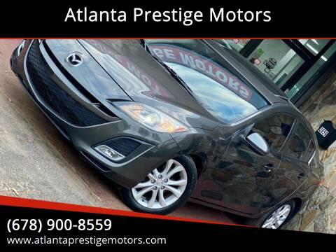 2010 Mazda MAZDA3 for sale at Atlanta Prestige Motors in Decatur GA