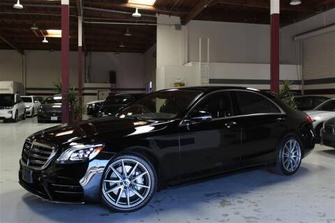 2018 Mercedes-Benz S-Class for sale at SELECT MOTORS in San Mateo CA