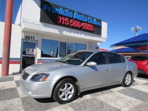 2005 Nissan Altima for sale at Franklin Auto Sales in El Paso TX