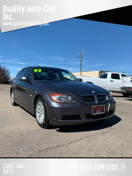 2007 BMW 3 Series for sale at Quality Auto City Inc. in Laramie WY