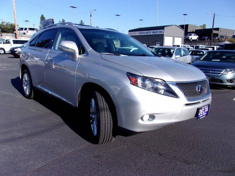 2012 Lexus RX 450h for sale at Delta Auto Sales in Milwaukie OR
