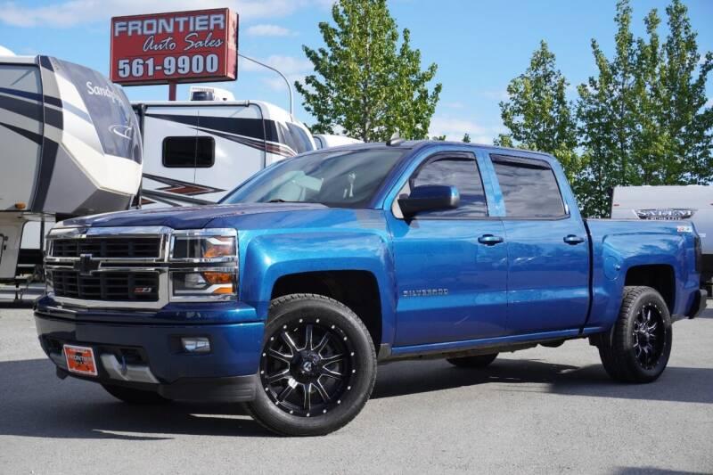 2015 Chevrolet Silverado 1500 for sale at Frontier Auto & RV Sales in Anchorage AK