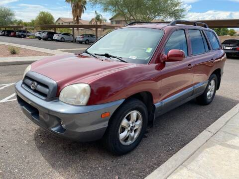 2005 Hyundai Santa Fe for sale at EV Auto Sales LLC in Sun City AZ