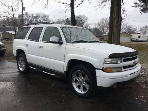 2005 Chevrolet Tahoe for sale at Antique Motors in Plymouth IN