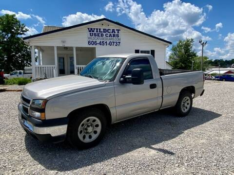 2006 Chevrolet Silverado 1500 for sale at Wildcat Used Cars in Somerset KY