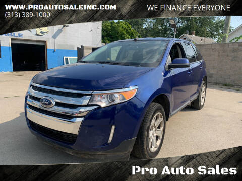 2014 Ford Edge for sale at Pro Auto Sales in Lincoln Park MI