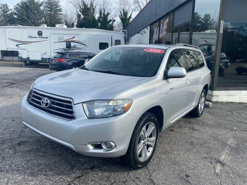 2008 Toyota Highlander for sale at Import Auto Mall in Greenville SC