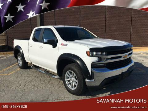 2019 Chevrolet Silverado 1500 for sale at Savannah Motors in Cahokia IL
