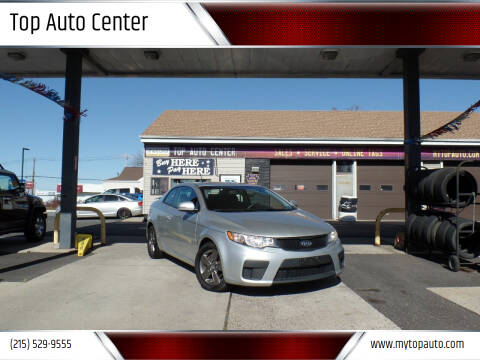 2011 Kia Forte Koup for sale at Top Auto Center in Quakertown PA