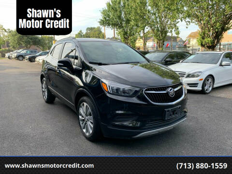 2019 Buick Encore for sale at Shawn's Motor Credit in Houston TX