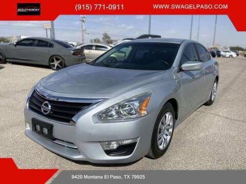 2015 Nissan Altima for sale at SOUTHWEST AUTO GROUP-EL PASO in El Paso TX