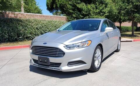 2016 Ford Fusion for sale at International Auto Sales in Garland TX