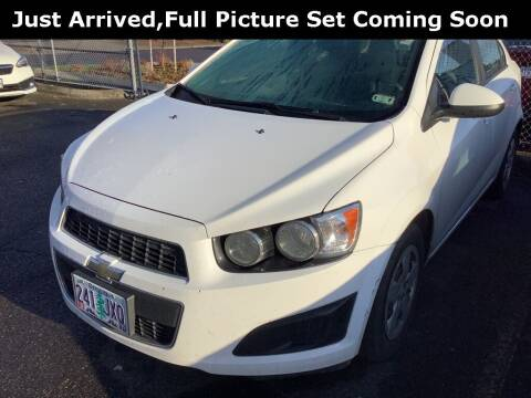 2015 Chevrolet Sonic for sale at Royal Moore Custom Finance in Hillsboro OR