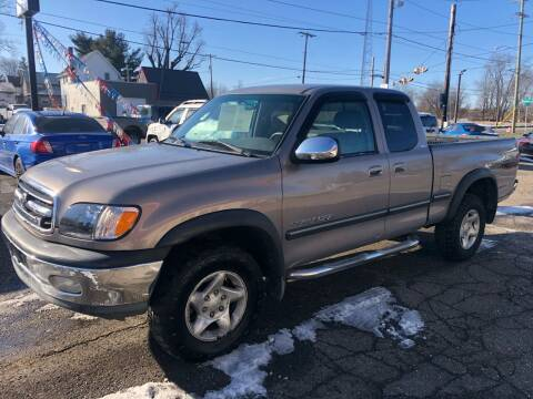 2002 Toyota Tundra for sale at Grims Auto Sales in North Lawrence OH