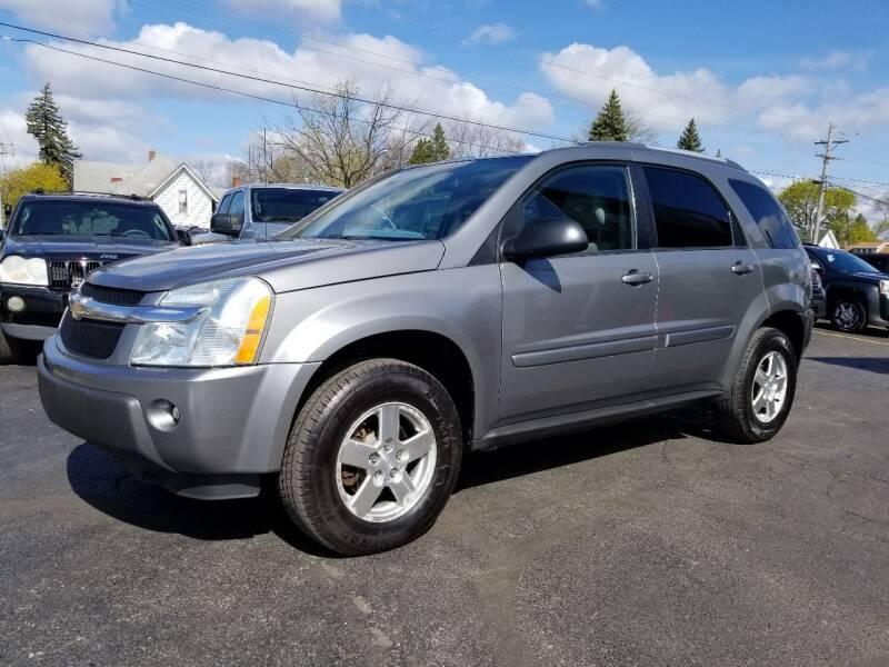 2005 Chevrolet Equinox for sale at DALE'S AUTO INC in Mt Clemens MI