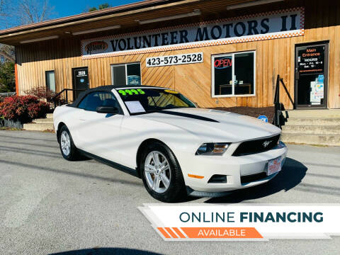 2012 Ford Mustang for sale at Kerwin's Volunteer Motors in Bristol TN