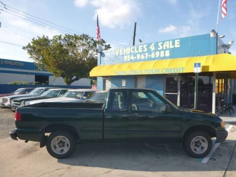1998 Isuzu Hombre for sale at Car Mart Leasing & Sales in Hollywood FL