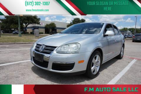 2009 Volkswagen Jetta for sale at F.M Auto Sale LLC in Dallas TX