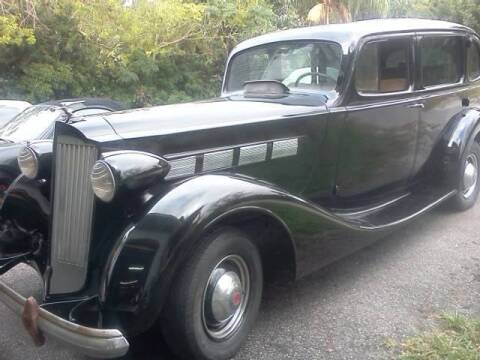 1937 Packard Super 8 for sale at Haggle Me Classics in Hobart IN