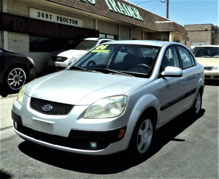 2006 Kia Rio for sale at DESERT AUTO TRADER in Las Vegas NV