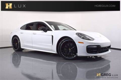 2018 Porsche Panamera for sale at HGREG LUX EXCLUSIVE MOTORCARS in Pompano Beach FL