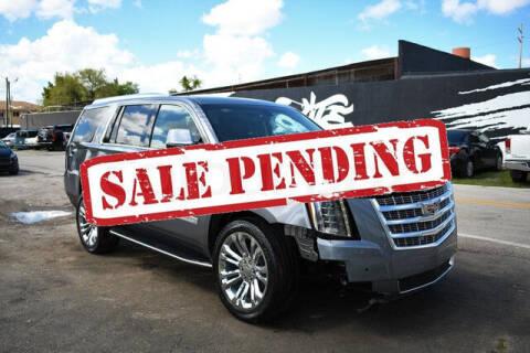 2020 Cadillac Escalade for sale at ELITE MOTOR CARS OF MIAMI in Miami FL