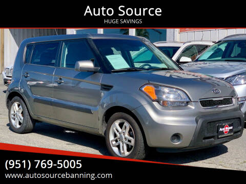2011 Kia Soul for sale at Auto Source in Banning CA