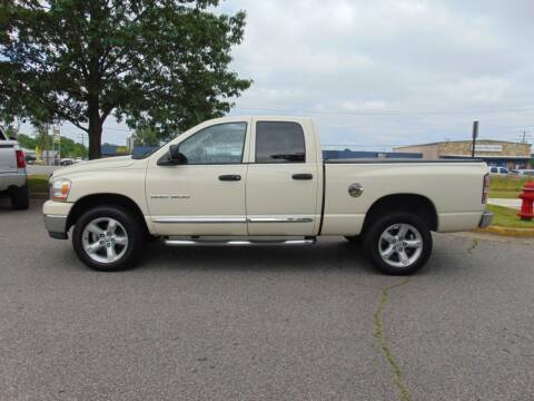 2006 Dodge Ram Pickup 1500 for sale at CR Garland Auto Sales in Fredericksburg VA