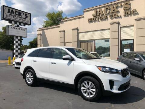 2019 Kia Sorento for sale at JACK'S MOTOR COMPANY in Van Buren AR