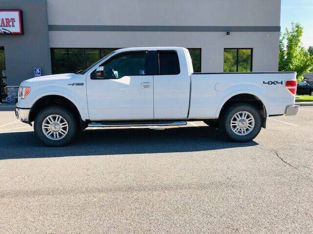 2009 Ford F-150 for sale at ALL AMERICAN AUTO MART in Edwardsville KS