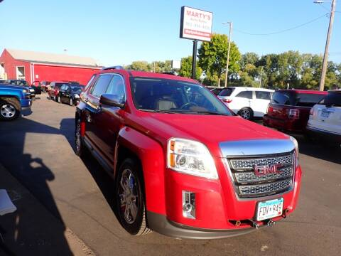 2014 GMC Terrain for sale at Marty's Auto Sales in Savage MN