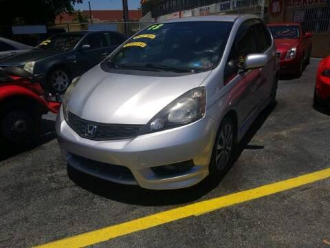 2013 Honda Fit for sale at VALDO AUTO SALES in Miami FL